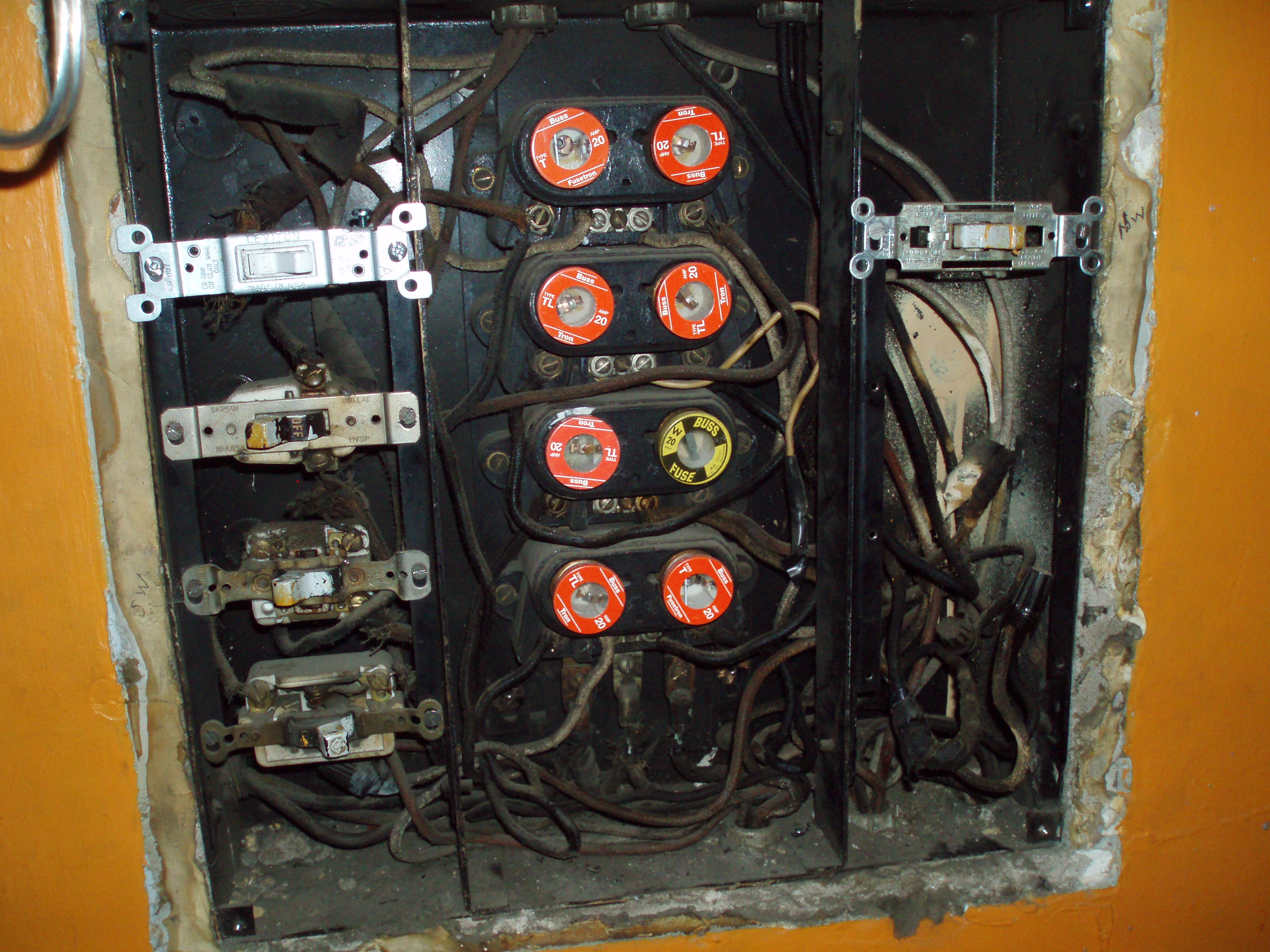 old fuse boxes